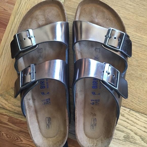47fb80d8c808 Birkenstock Shoes - Birkenstock Arizona Soft Foot Bed Size 10 10.5 41